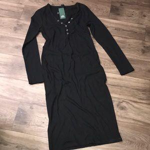 Wild Fable Maxi Bodycon Knit Dress